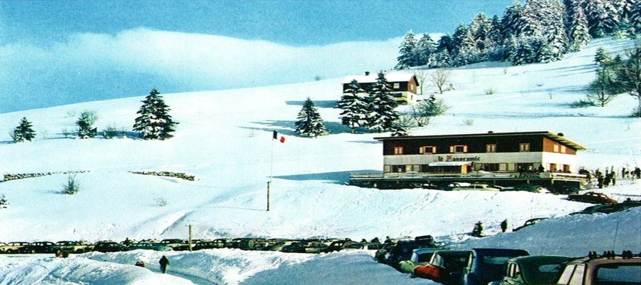 Le site de « Super Vallée » La Bresse dans les années 1960. ©Jean-Marie Remy