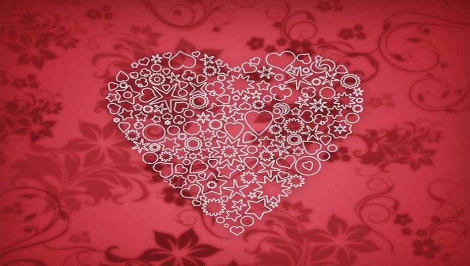 Des perles de cristaux pour célébrer la Saint-Valentin. Copyright DR