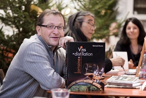 Bertrand Munier animera cinq conférences sur le vin le samedi et dimanche. ©Vincent Ganaye