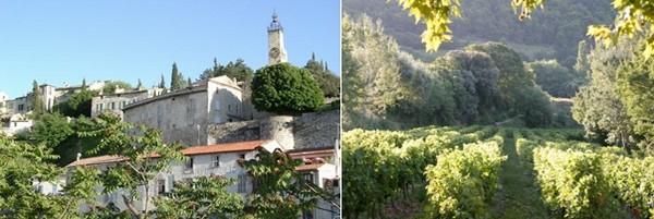 Et puis il y ces fameux villages d'Art et d'Histoire comme la haute ville de  Vaison-La-Romaine dominée par la Tour de l'horloge  et bien sûr le village de Rasteau. © Mairie de Vaison-La-Romaine