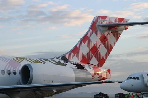 Prague est un aéroport sur lequel  la Cie Volotea a déjà 5 lignes (dont 4 vers la France). Munich est un autre aéroport de Volotea, à laquelle vient de s' ajouter une 3e ligne (vers Mykonos en plus de Nantes et Bordeaux).© Loïck Ducrey