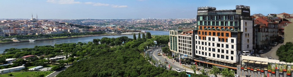 Le  Mövenpick Golden Horn d'Istanbul  une boutique- hôtel au cœur du quartier authentique et tranquille de Beyup © Mövenpick Golden Horn