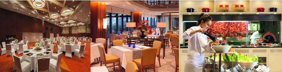 Couleur et élégance des salles de restaurants avec en plus un chaleureux accueil oriental et un service amical et stylé.© Mövenpick Golden Horn