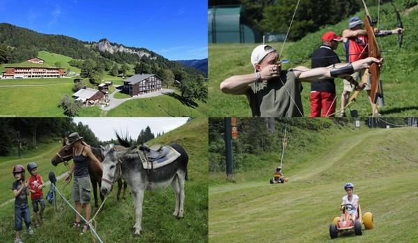 Il y a beaucoup de choses à faire l'été dans la région, la route des vins, la visite de Chambéry, Chamonix, Annecy. Nous attaquons à nouveau avec une clientèle famille en juillet-août. © Les Balcons  ULVF