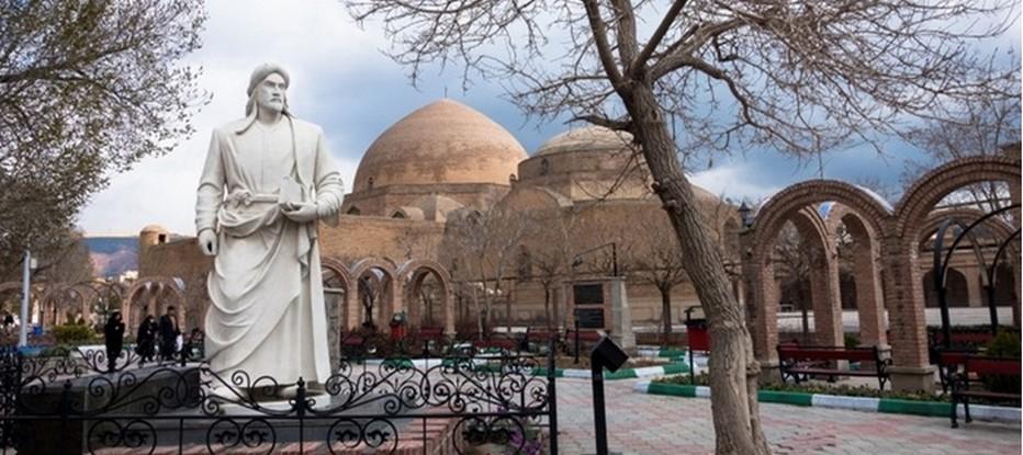 La Mosquée bleue Masjed-e Kaboud de Tabrizla  construite au XVème siècle,© Mondo Terra