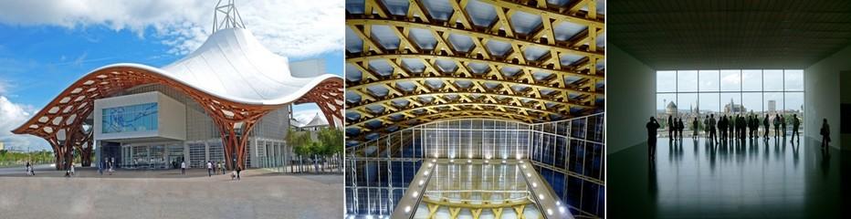 . Au centre du nouveau quartier de l'Amphithéâtre confié à l'urbaniste Nicolas Michelin, s'élève le magnifique Centre Pompidou-Metz © OT Metz