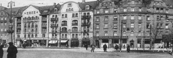 Une photo d'un quartier de Metz prise en 1940 ©  Lehall.com