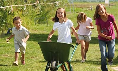 Permis et courses de brouettes (brouettes pour enfants) © www.chapeaudepaille.fr