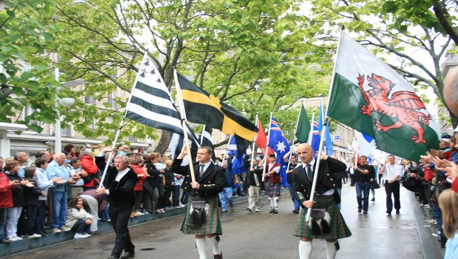 La grande parade du Festival Interceltique de Lorient qui va se dérouler du 5 au 14 août prochain. L'Australie est à l'honneur pour cette nouvelle édition.   © esjaufil.wordpress.com