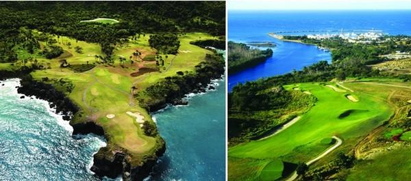 La Républicaine Dominique   a reçu le prix de la « Meilleure Destination de Golf des Caraïbes », lors des World Golf Awards 2014, au Portugal.© OT République Dominicaine