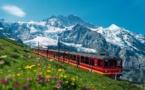 Jungfraubahn, le train le plus haut d'Europe
