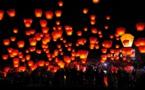 La fête des Lanternes fait resplendir les nuits de Taïwan !