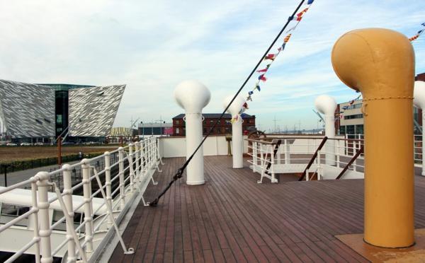 Dynamique Belfast !  Explorez la légende du Titanic pour Halloween