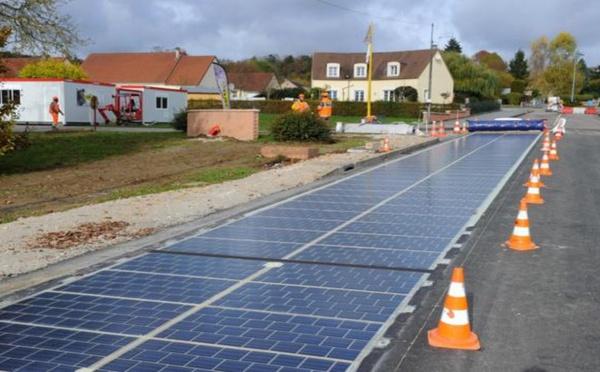 France - la construction de la première route solaire au monde est lancée