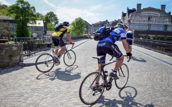 """Voyager en ligne avec  """" La Wallonie à vélo par les voies vertes """""""