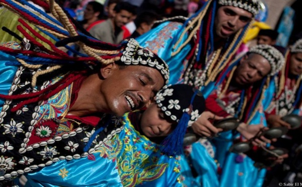 Maroc - Les Gnaouas d'Essaouira