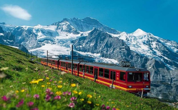 Jungfraubahn, le train le plus haut d'Europe