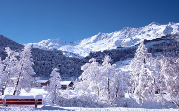 "Saas-Fee, ""la perle du Valais suisse"""