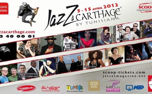7ème Edition du Jazz à Carthage by Tunisiana : une programmation riche en diversité.