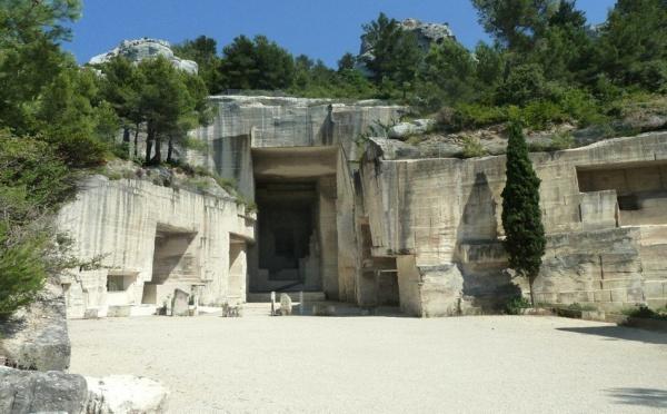 Les Baux de Provence : Expérience époustouflante dans les carrières du Val d'Enfer, rebaptisées Carrières de Lumières !
