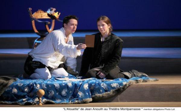 L'alouette de Jean Anouilh, un grand moment de Théâtre dont on sort ému et émerveillé.