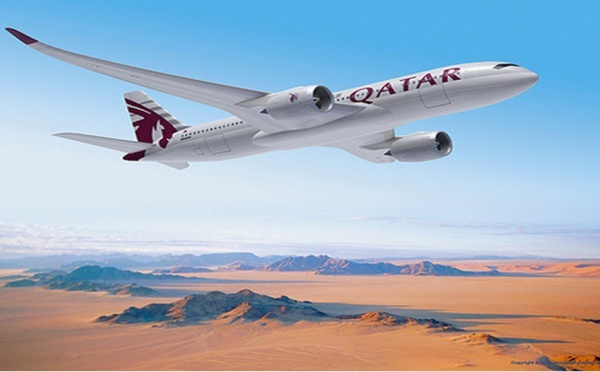 Qatar Airways : Carnet de vol bien rempli.