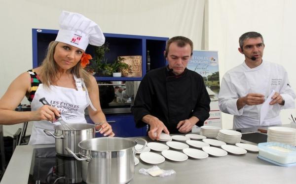 Les étoiles de la gastronomie sont à Mougins !