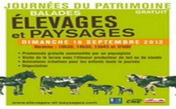 Journées du Patrimoine 2012 - Portes ouvertes sur le patrimoine rural