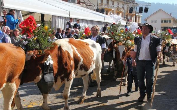 Suisse  : Au pays de la Bénichon, nature et tradition.