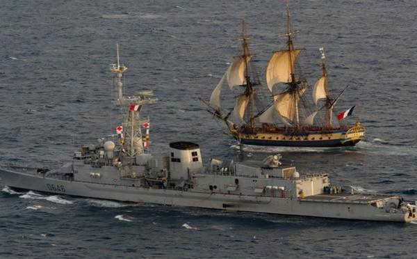 L'Hermione, star des Fêtes Maritimes internationales de Brest